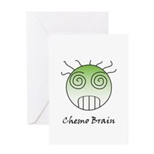 Chemo Brain Greeting Card