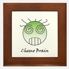 Chemo Brain Framed Tile