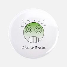 """Chemo Brain 3.5"""" Button"""