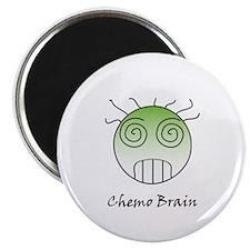 """Chemo Brain 2.25"""" Magnet (10 pack)"""