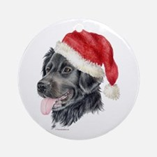 Christmas Stabyhoun Ornament (Round)