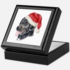 Christmas Stabyhoun Keepsake Box