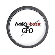 World's Hottest Cfo Wall Clock