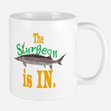 The Surgeon is IN or OUT. Mug