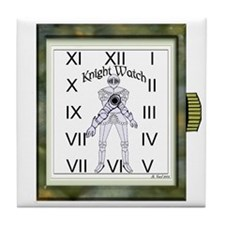 Knight Watch Tile Coaster