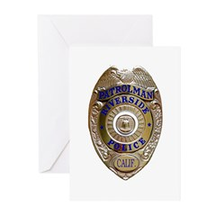Riverside Police Greeting Cards (Pk of 10)