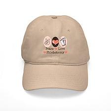 Peace Love Phlebotomy Baseball Baseball Cap