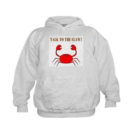TALK TO THE CLAW Kids Hoodie