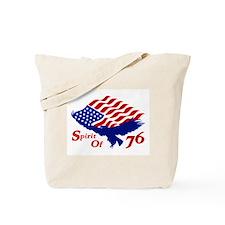 Spirit of 76! USA Patriotic Tote Bag