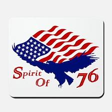 Spirit of 76! USA Patriotic Mousepad