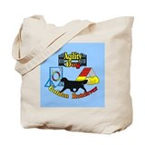 Agility golden retrievers Totes & Shopping Bags