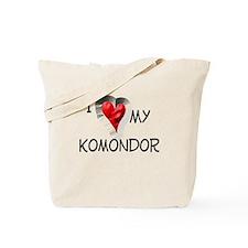 Komondor Tote Bag