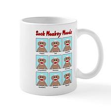 Sock Monkey Moods Mug