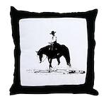 trail horse Throw Pillow