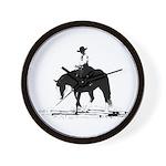 trail horse Wall Clock