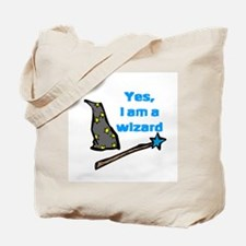 Yes, I am a wizard Tote Bag