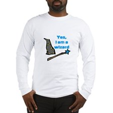 Yes, I am a wizard Long Sleeve T-Shirt