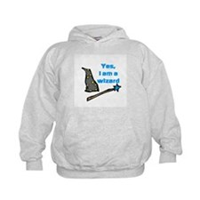 Yes, I am a wizard Hoodie
