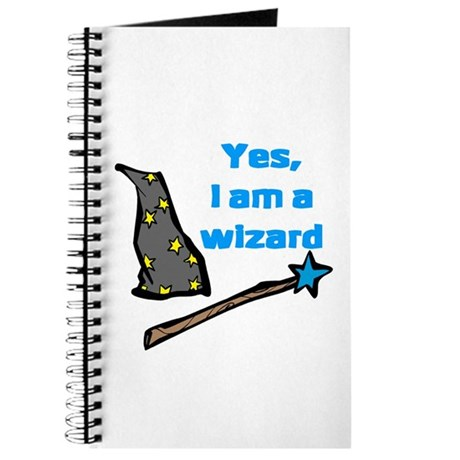 Yes, I am a wizard Journal