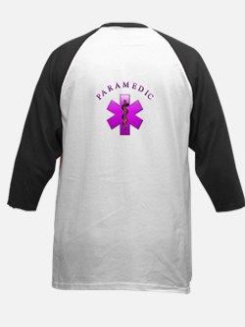 Paramedic(pink) Kids Baseball Jersey
