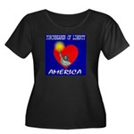 America Torchbearer of Libert Women's Plus Size Sc