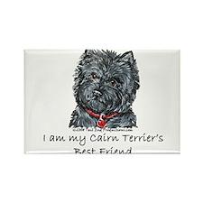 Cairn Terrier Best Friend Rectangle Magnet