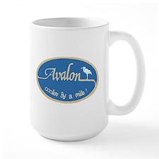 Avalon ... Cooler by a mile Large Mug
