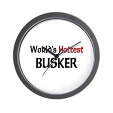 World's Hottest Busker Wall Clock