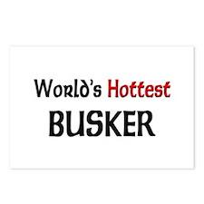 World's Hottest Busker Postcards (Package of 8)