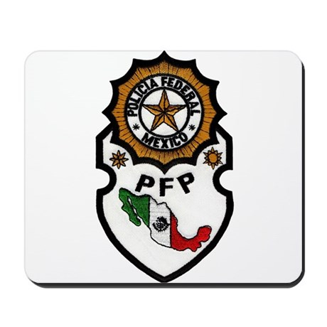 Mexican Federal Police Mousepad