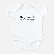 Oscar Wilde - Be Yourself Infant Bodysuit