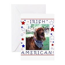 Irish American Greeting Cards (Pk of 20)