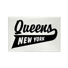 Queens New York Rectangle Magnet