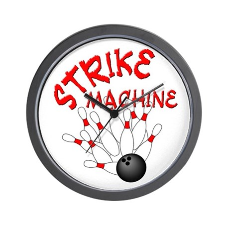Strike Machine Wall Clock