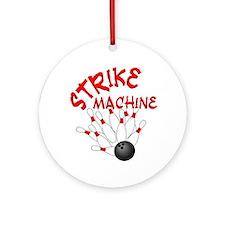 Strike Machine Ornament (Round)