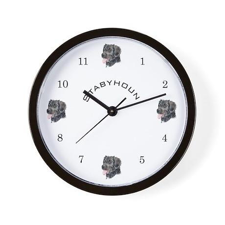 Stabyhoun Wall Clock