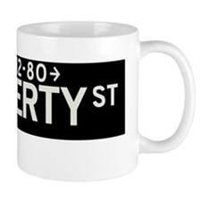Liberty Street in NY Mug