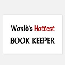 World's Hottest Book Keeper Postcards (Package of