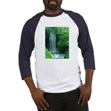 Glencar Waterfall, Ireland Baseball Jersey