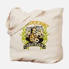 Protect Wildlife Tote Bag