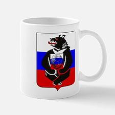 Russian Bear Soccer Football Mug