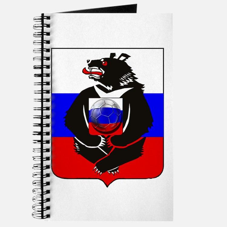 Russian Bear Soccer Football Journal
