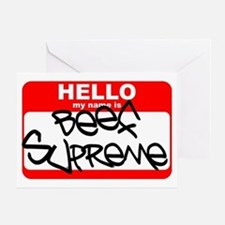 Beef Supreme Greeting Card