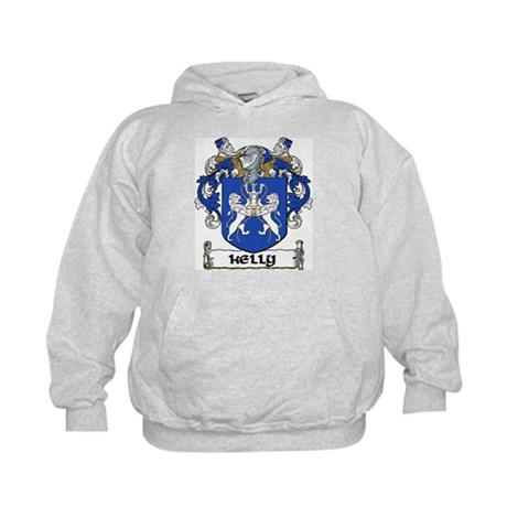 Kelly Coat of Arms Kids Hoodie