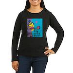 1 cute chick Women's Long Sleeve Dark T-Shirt