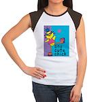 1 cute chick Women's Cap Sleeve T-Shirt