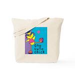 1 cute chick Tote Bag