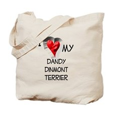 Dandy Dinmont Terrier Tote Bag