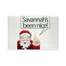 Savannah's Been Nice Rectangle Magnet