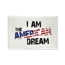 I Am The American Dream Rectangle Magnet